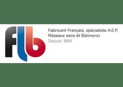 FLB : Fabricant français, spécialiste A.E.P, réseaux secs et batiments